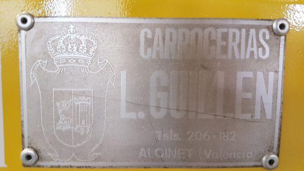 Guillén Group recuperó el aspecto del vehículo con sus elementos originales